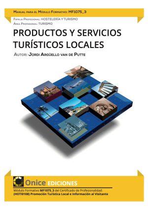 Productos y Servicios Turísticos Locales