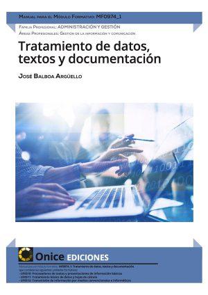 MF0974_1 Tratamiento de datos textos y documentación