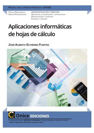 UF0321 Aplicaciones informáticas de hojas de cálculo