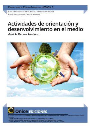 Actividades de orientación y desenvolvimiento en el medio